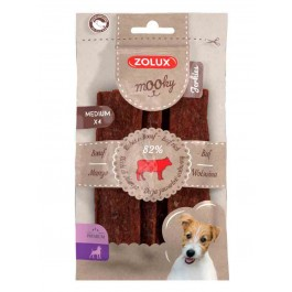 Zolux Mooky Premium Jerkies boeuf M x4
