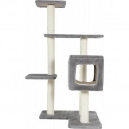 Zolux arbre à chat Cube 3 gris 77 x 60 x 116 cm - La Compagnie Des Animaux