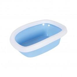 Zolux Bac à litière avec rebords Bleu - La Compagnie Des Animaux