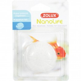Zolux Bloc Vacances pour poisson - La Compagnie Des Animaux