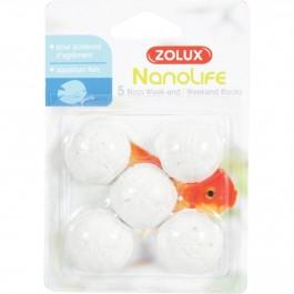 Zolux Bloc Week-end pour poisson x5 - La Compagnie Des Animaux
