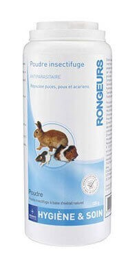Poudre antiparasitaire Rongeurs 125 grs