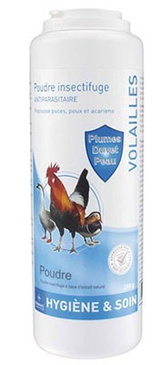 Poudre Antiparasitaire Volaille 250 grs