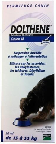Dolthene M (chien de 13 à 33 kg) 50 ml