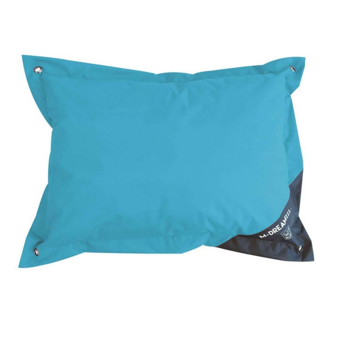 M-Pets Natuna coussin pour extérieur bleu & gris L