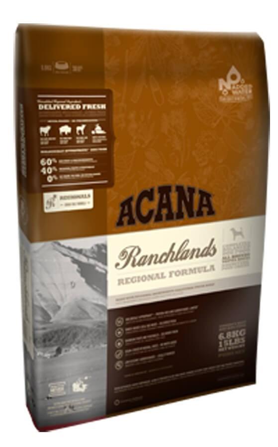 Acana Ranchlands Dog Croquettes Chien 11.4 kg