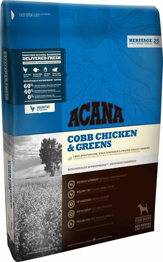 Acana Heritage Cobb Chiken&Greens 11.4 kg