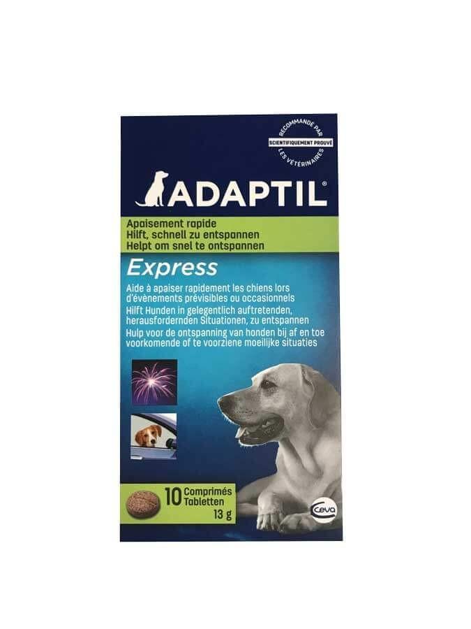 Adaptil Express 10 Comprimés- La Compagnie des Animaux