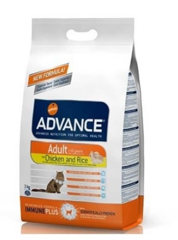 Advance Adult Chat au poulet 15 kg- La Compagnie des Animaux