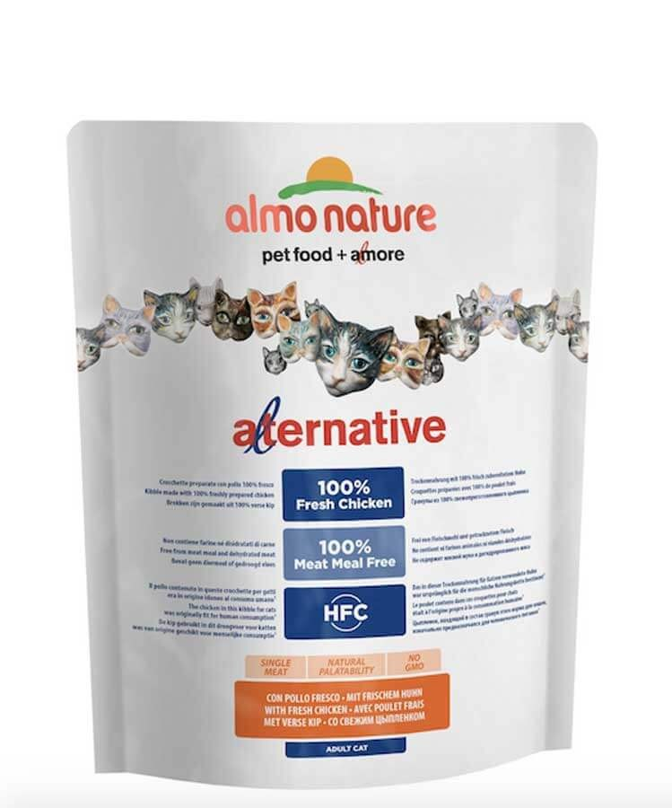 Almo Nature Alternative Chat Adulte Poulet et Riz 2 kg- La Compagnie des Animaux