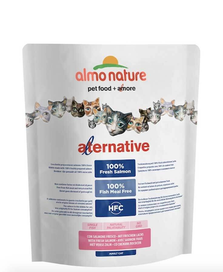 Almo Nature Alternative Chat Adulte Saumon et Riz 2 kg- La Compagnie des Animaux