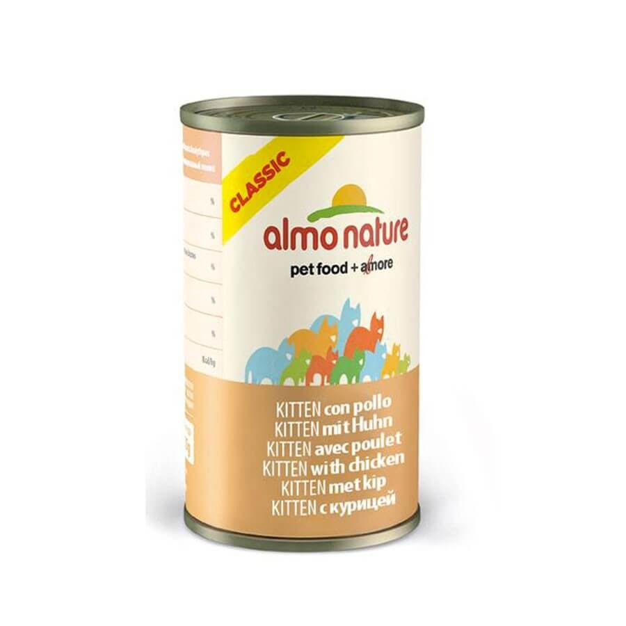 Almo Nature Chat Classic Kitten Poulet 24 x 140 grs