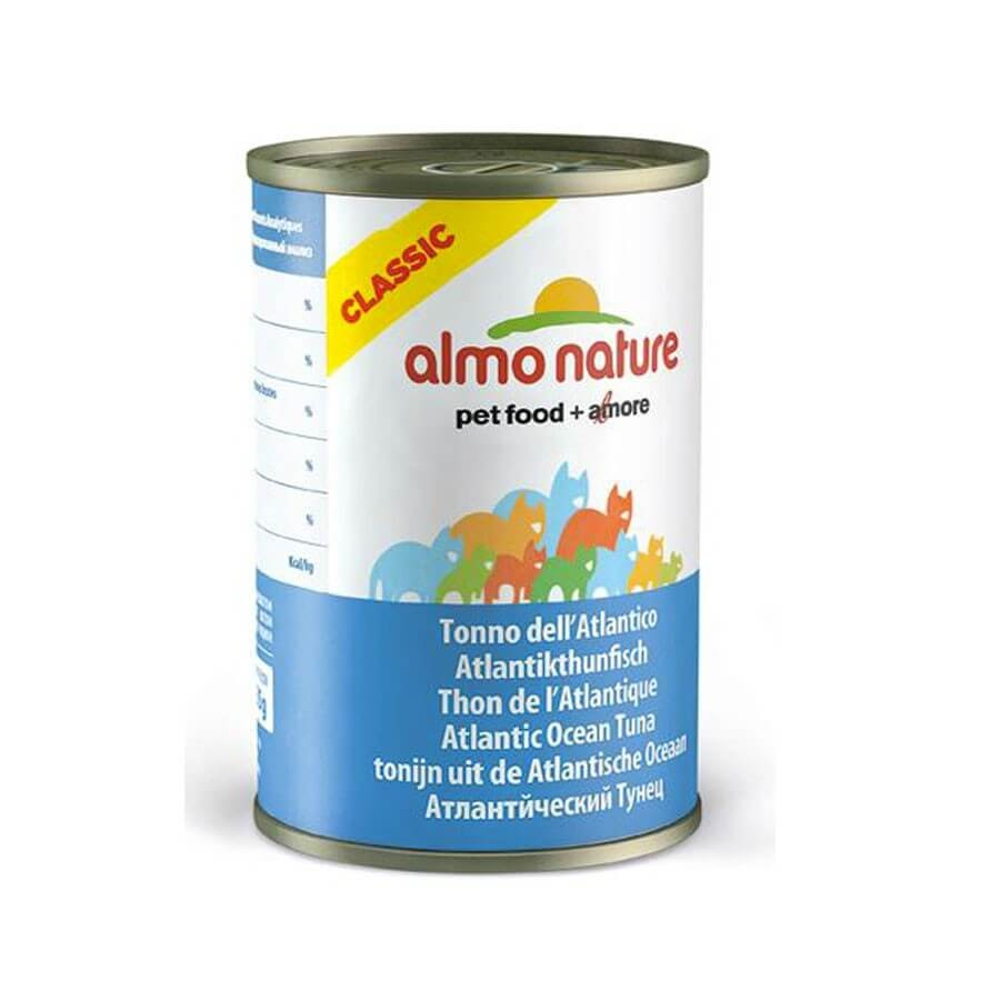 Almo Nature Chat Classic Thon de l'Atlantique 24 x 140 grs