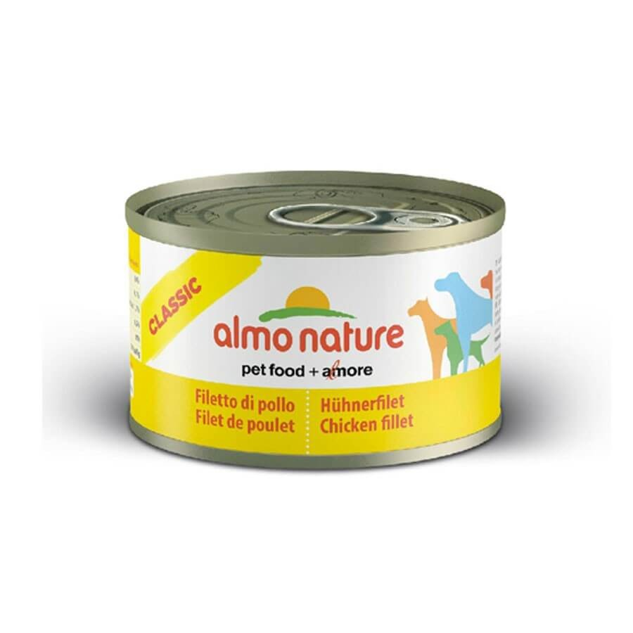 Almo Nature Chien Classic Filet de poulet 24 x 95 grs