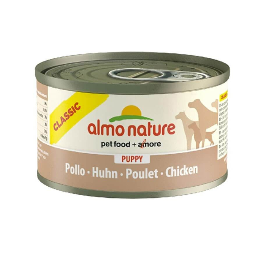 Almo Nature Chien Classic Puppy Poulet 24 x 95 grs