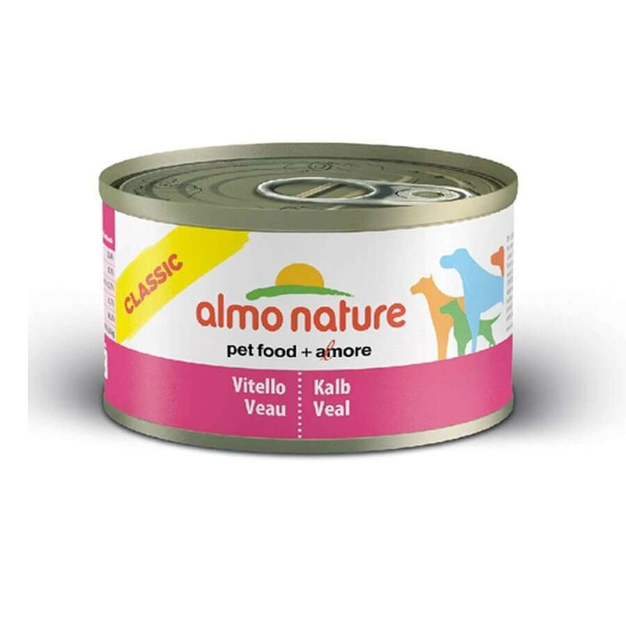 Almo Nature Chien Classic Veau 24 x 95 grs