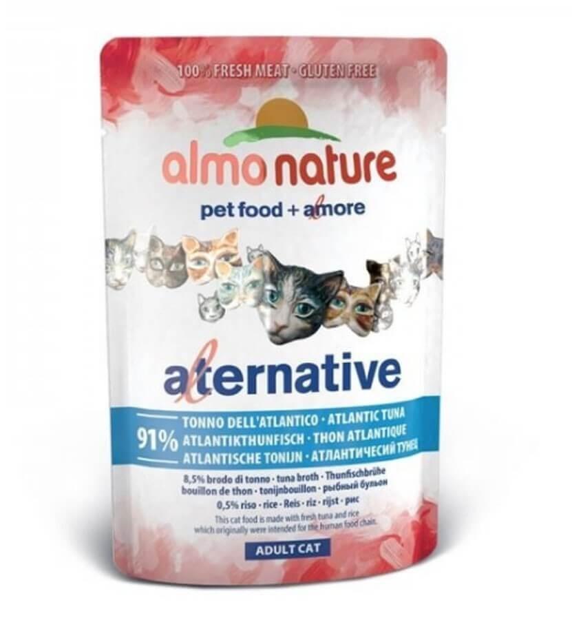Almo Nature HFC Alternative Thon de l'Atlantique pour chat sachets 24 x 55 grs