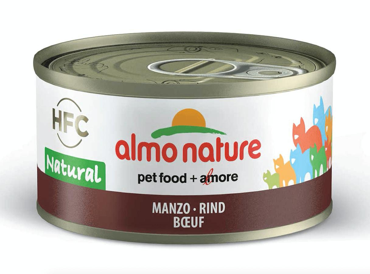 Almo Nature Chat Natural HFC Boeuf 24 x 70 grs - La Compagnie des ANimaux