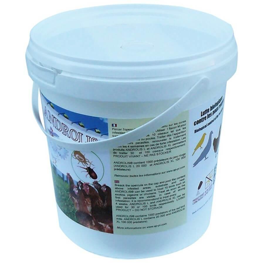 APPI Androlis anti-poux biologique pour Poules et Oiseaux L