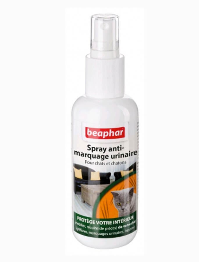 Beaphar Spray anti-marquage urinaire chat 250 ml- La Compagnie des Animaux