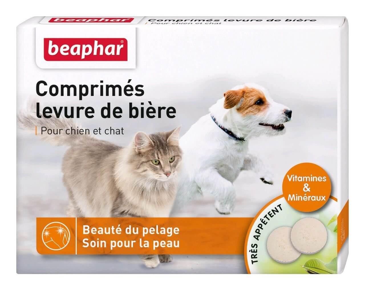 Beaphar Comprimés levure de bière 100 cps - La Compagnie des Animaux
