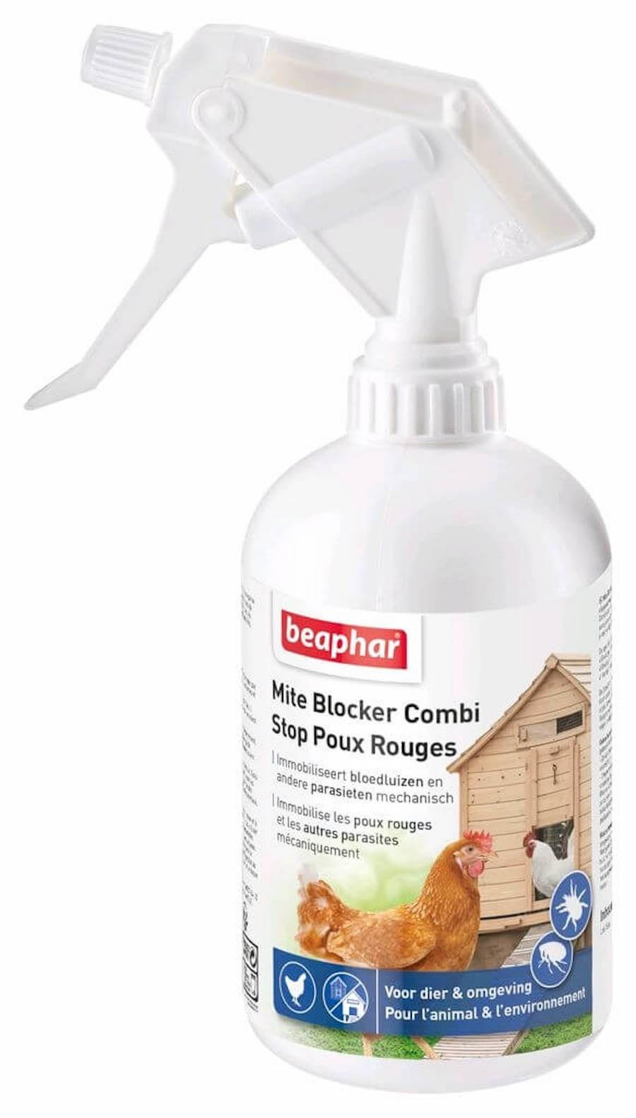 Beaphar Spray stop poux rouges 500ml - La Compagnie des Animaux