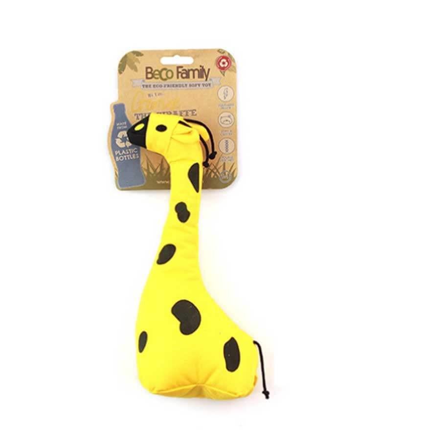 Beco Pets Peluche George la girafe pour chien 26 cm- La Compagnie des Animaux