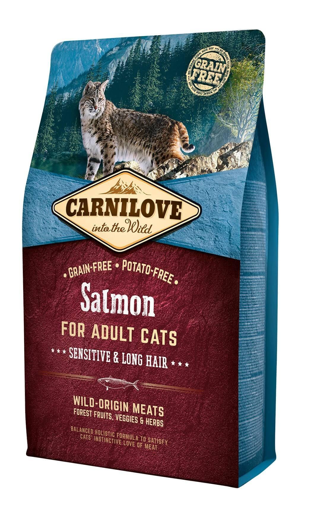 Carnilove Saumon chat 2 kg - La Compagnie des Animaux