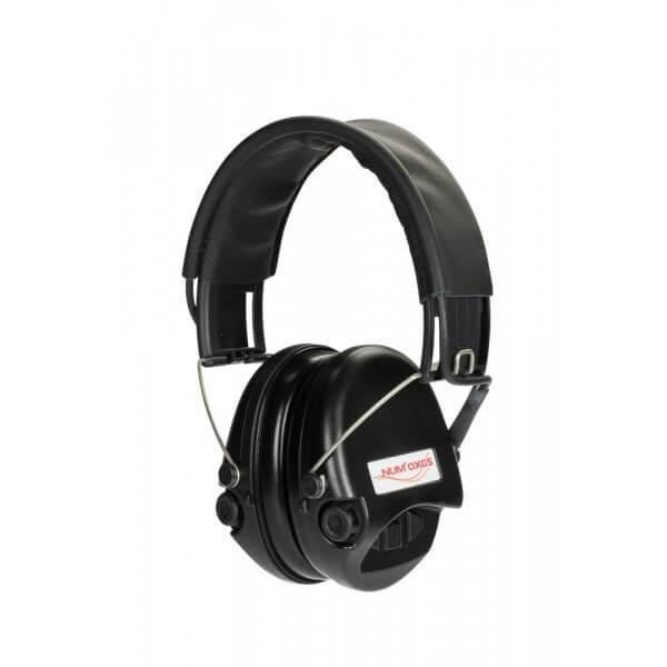 Casque anti-bruit Supreme Line numérique Noir