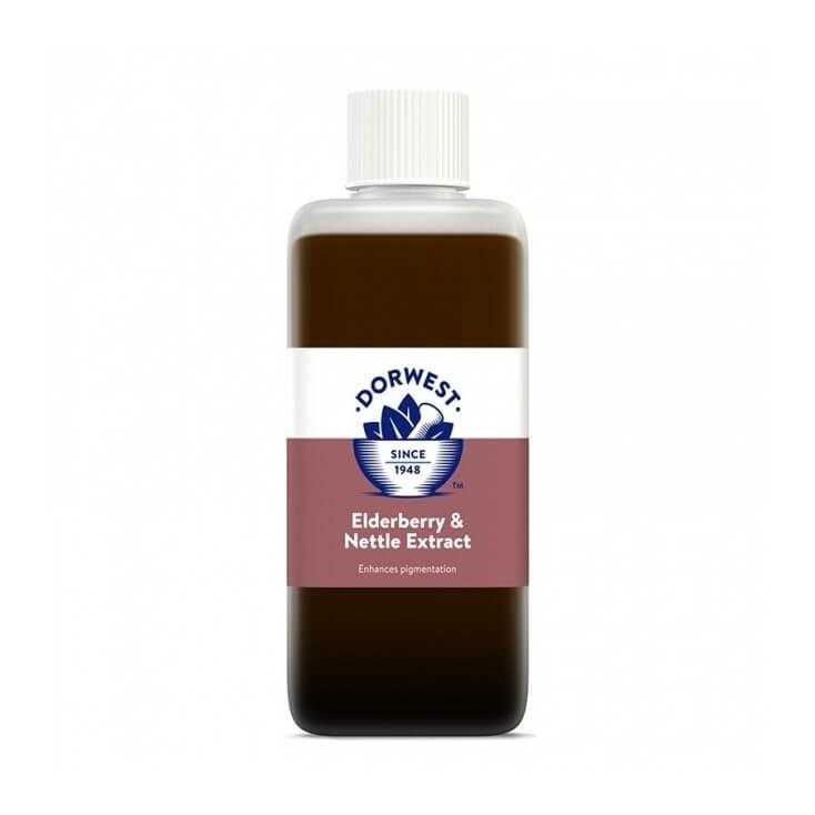 Dorwest extraits de baie de sureau et d'orties 125 ml