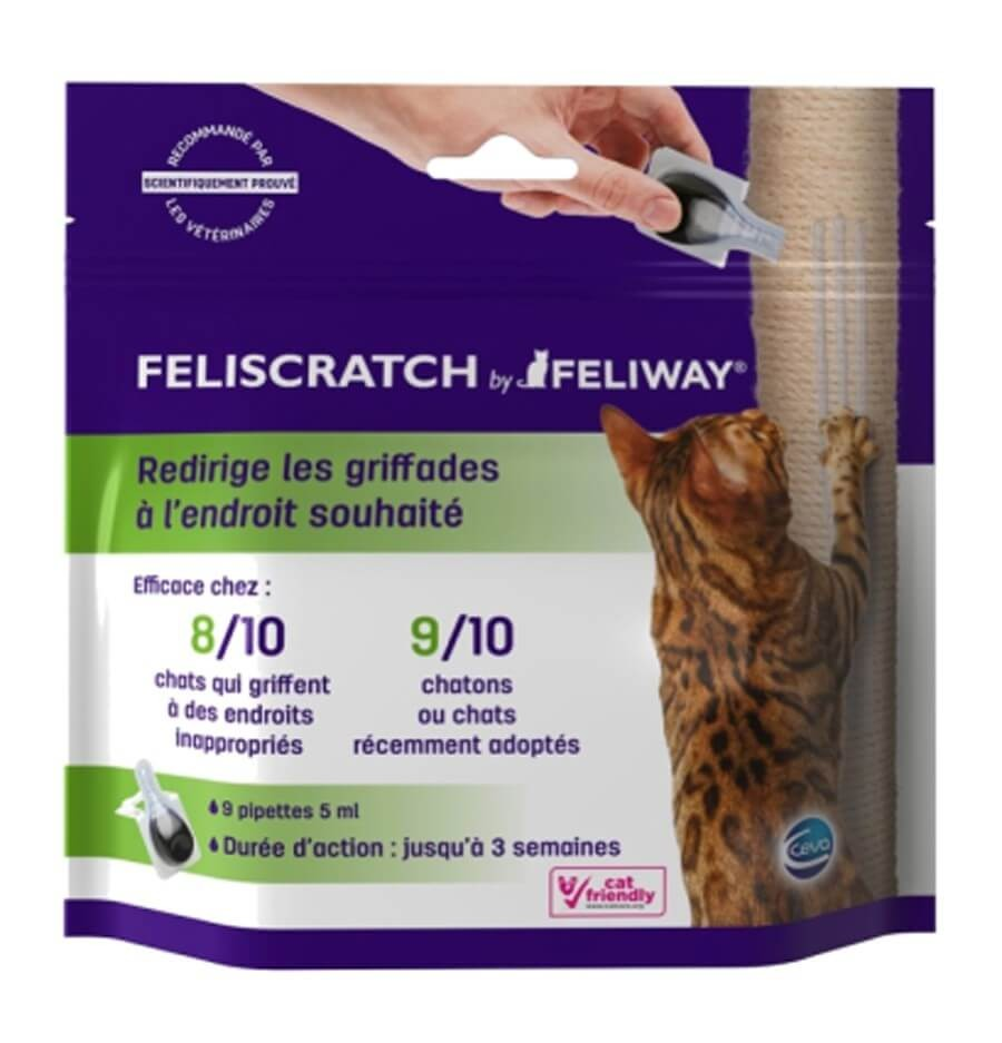 FELISCRATCH by FELIWAY® pour chat - 9 pipettes