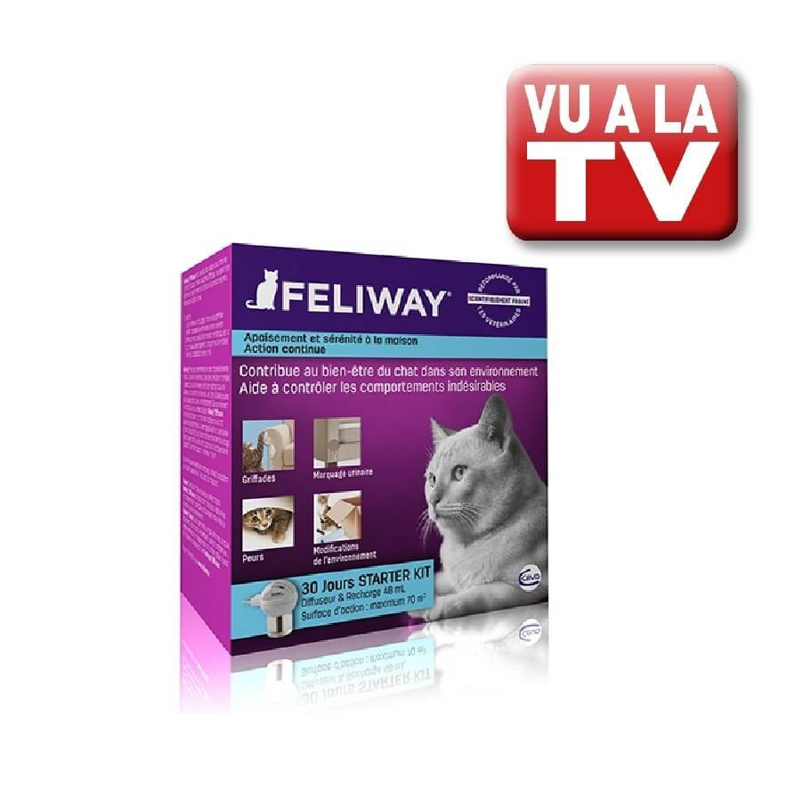 Feliway Diffuseur Recharge 48ml Anti Stress Efficace Pour Chats