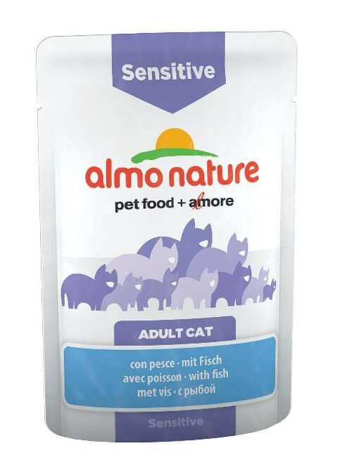 Almo Nature Chat Sensitive Poisson 30 x 70 grs