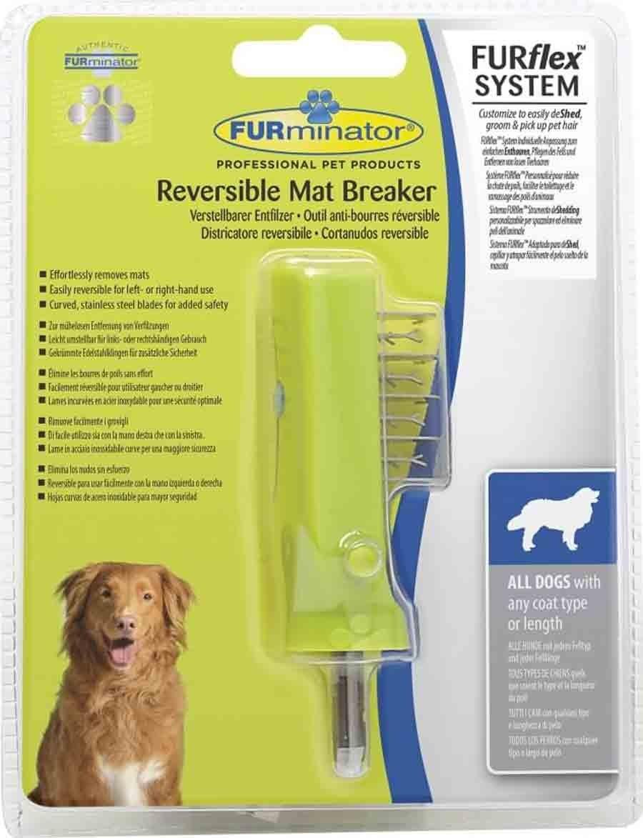 FURflex anti-bourres réversible FURminator pour chien - La Compagnie des Animaux