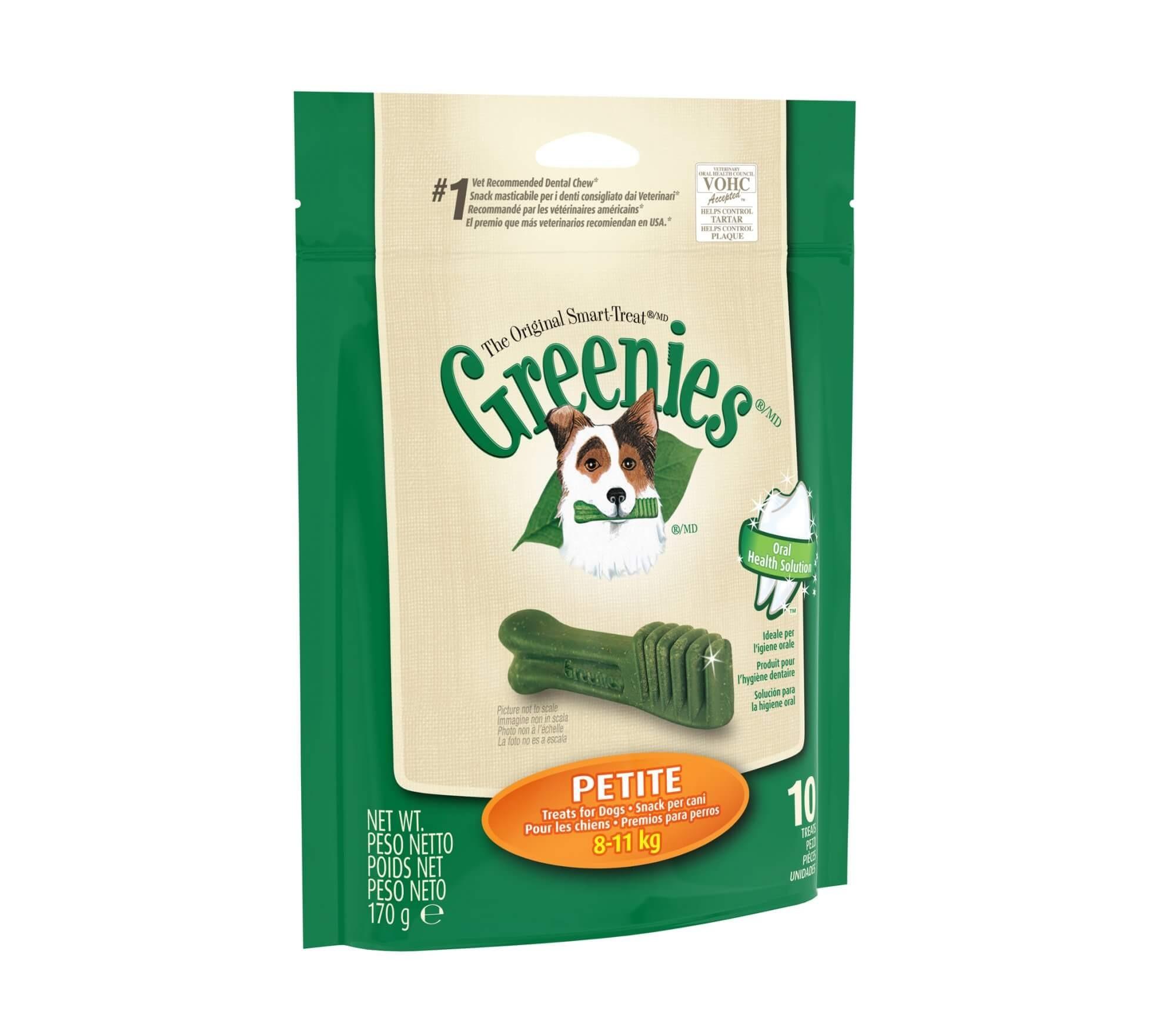 Greenies Petite 10 os
