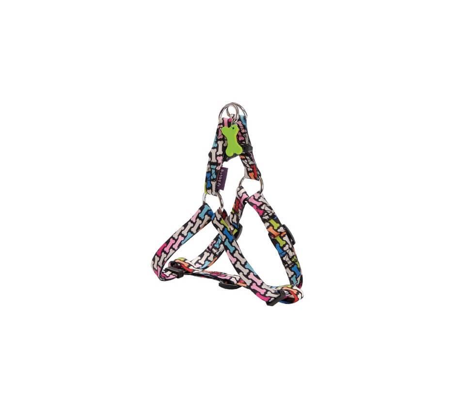 Harnais Bobby Carnaval multicolore S 28/41 cm
