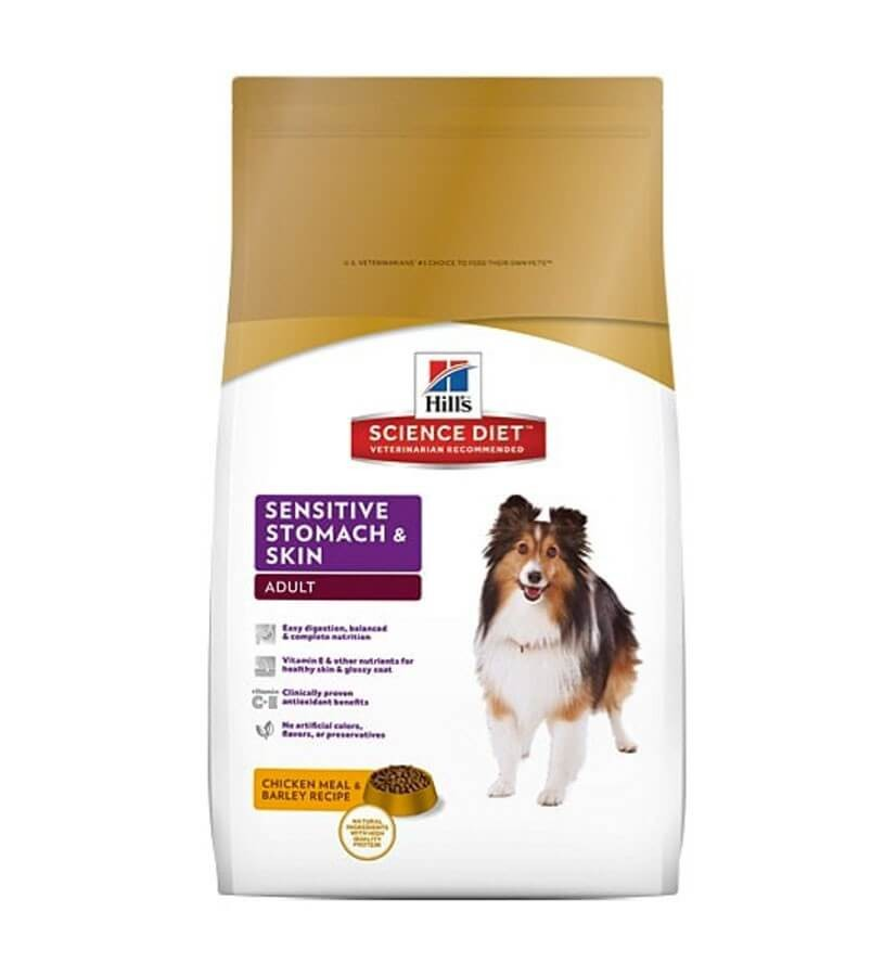 Hill's Science Plan Canine Adult Sensitive Stomach & Skin 12 kg - La Compagnie des Animaux
