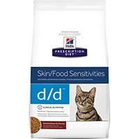 Hill's Prescription Diet Feline D/D Chevreuil et Petits Pois 1.5 kg