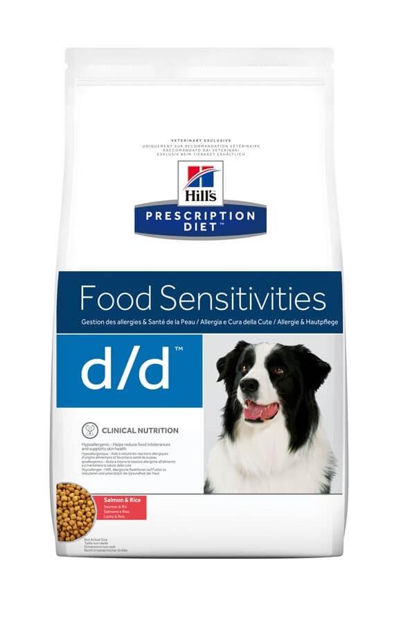 Hill's Prescription Diet Canine D/D Saumon et Riz 12 kg- La Compagnie des Animaux