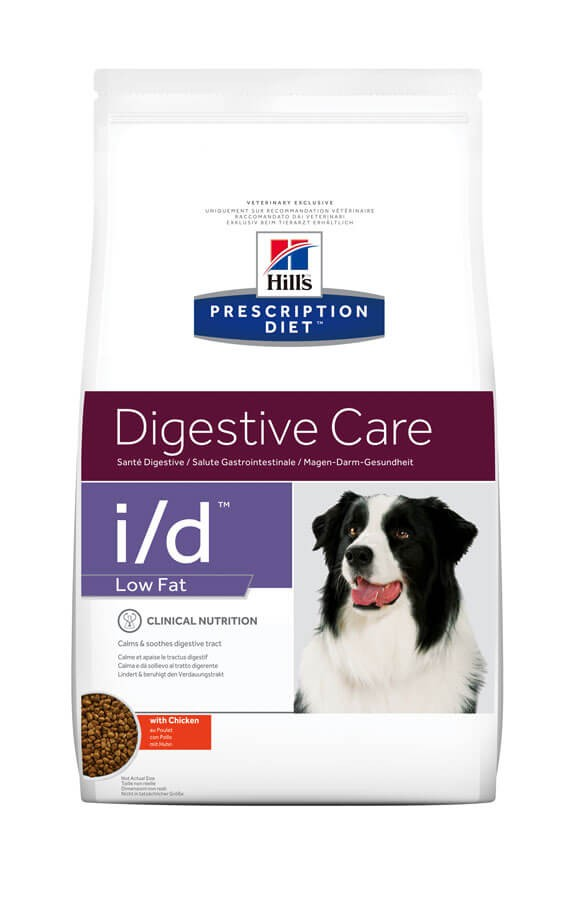 Hill's Prescription Diet Canine I/D Low Fat 1.5 kg- La Compagnie des Animaux