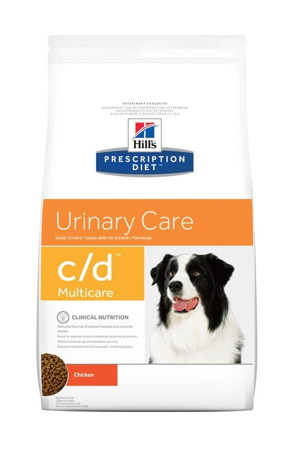 Hill's Prescription Diet Canine C/D 2 kg- La Compagnie des Animaux