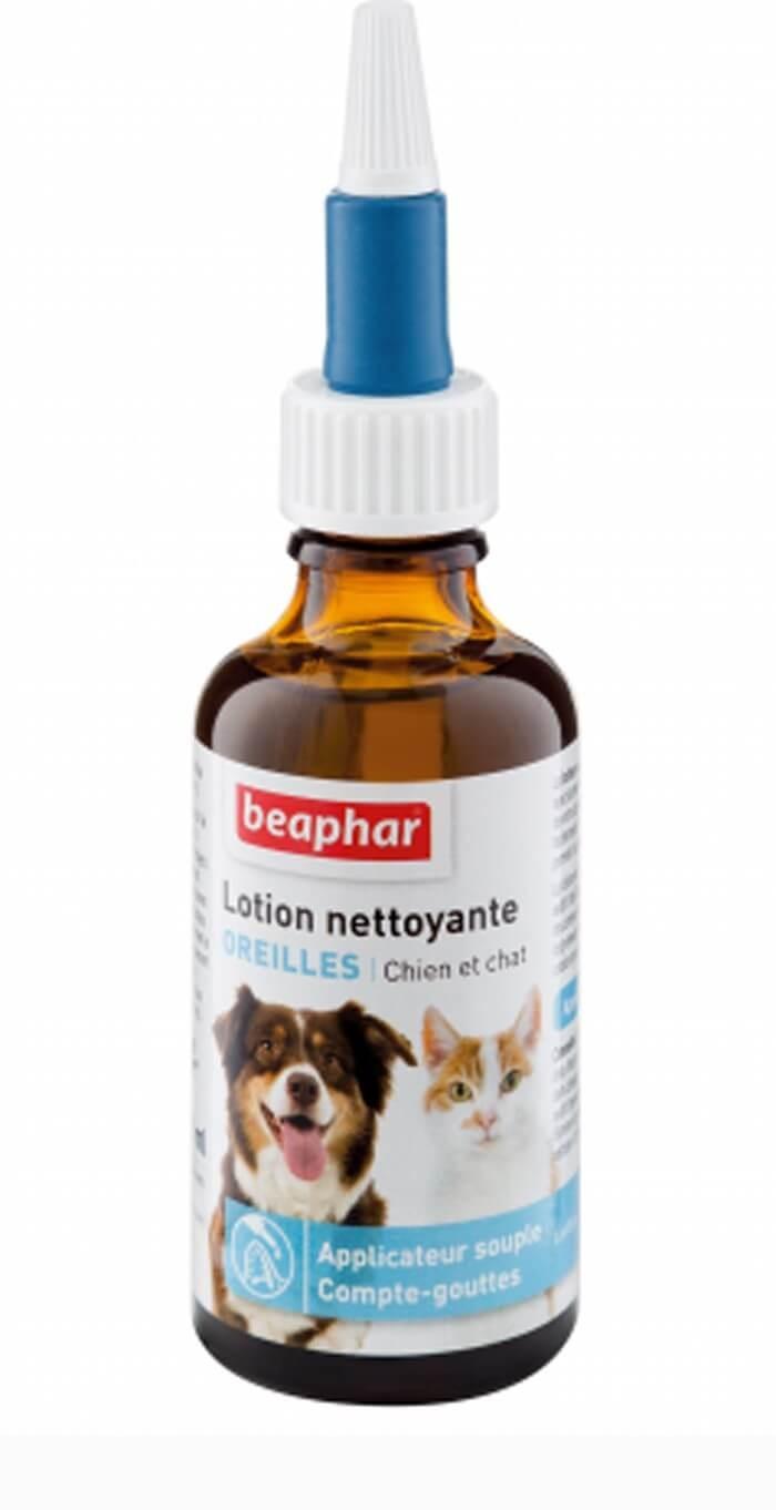 Beaphar Lotion nettoyante oreilles 50 ml - La Compagnie des Animaux