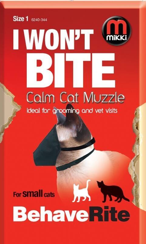 Muselière nylon Mikki pour chat T.2