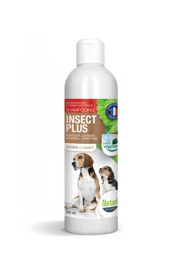 Naturlys Shampooing insect plus chien et chiot 140 ml