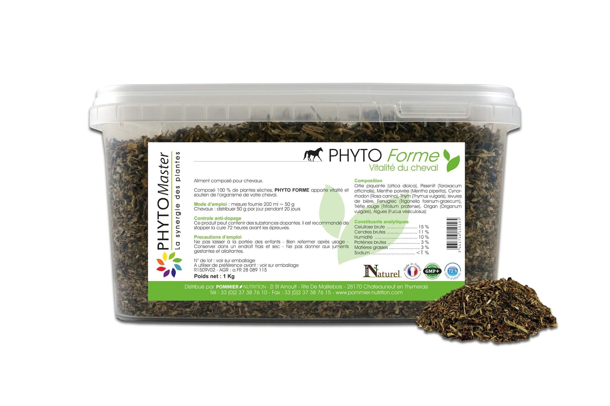 Phyto Master Forme 1 kg - La Compagnie des Animaux