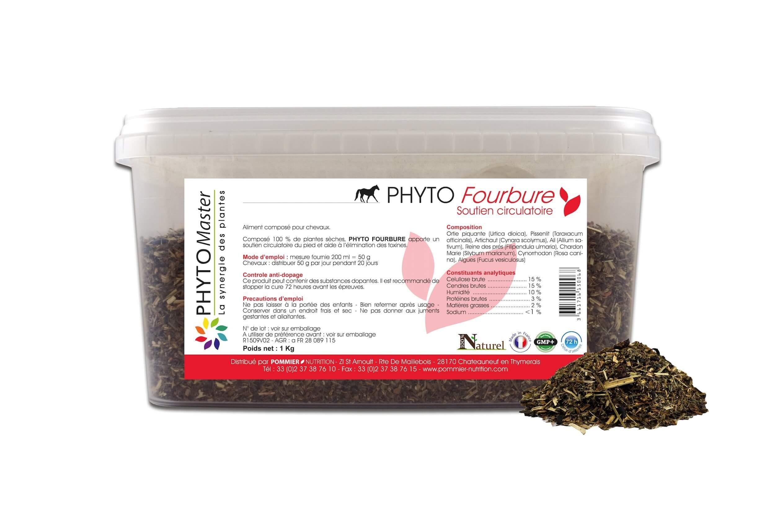 Phyto Master Fourbure 1 kg - La Compagnie des Animaux