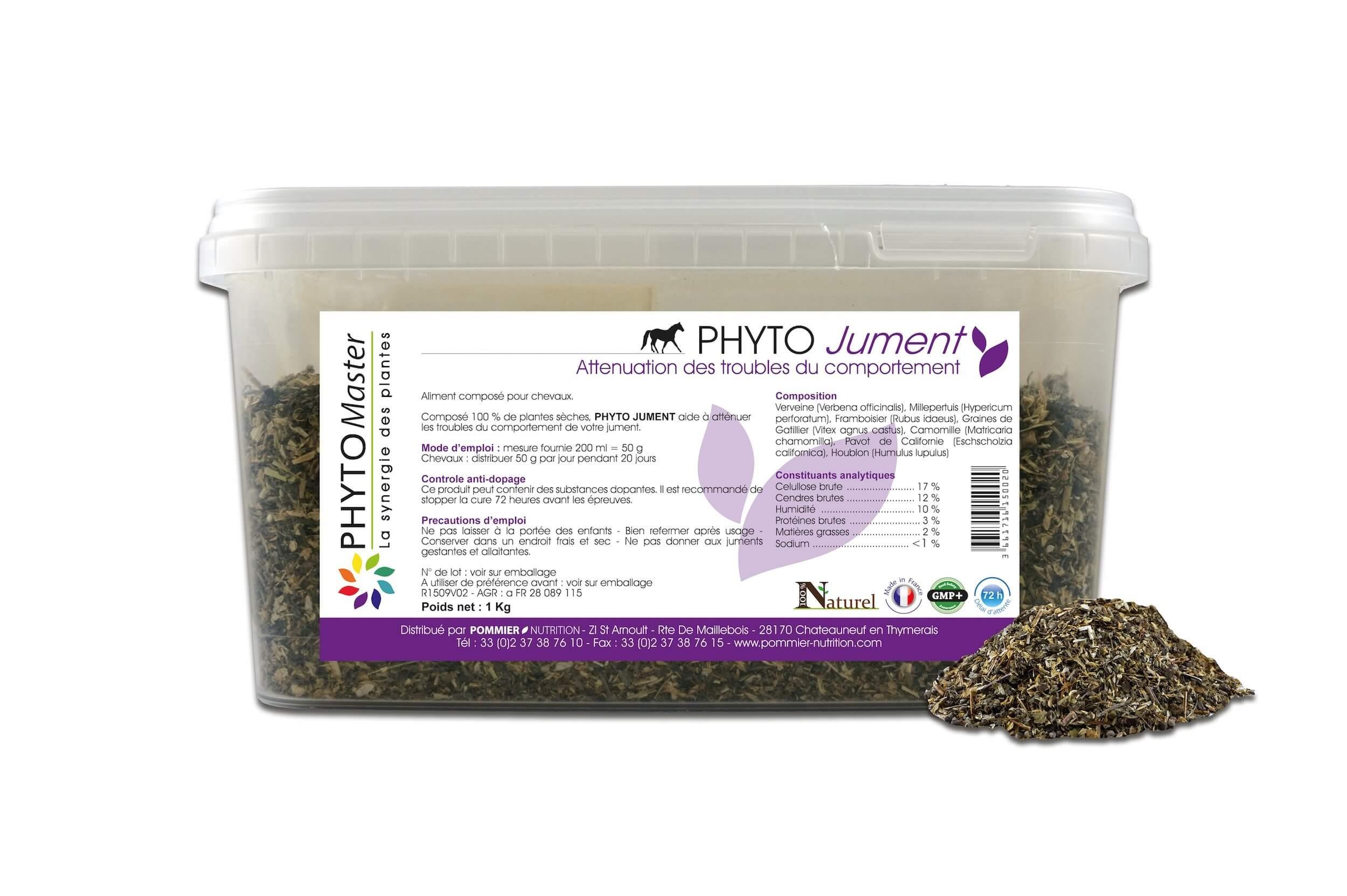 Phyto Master Jument 1 kg - La Compagnie des Animaux