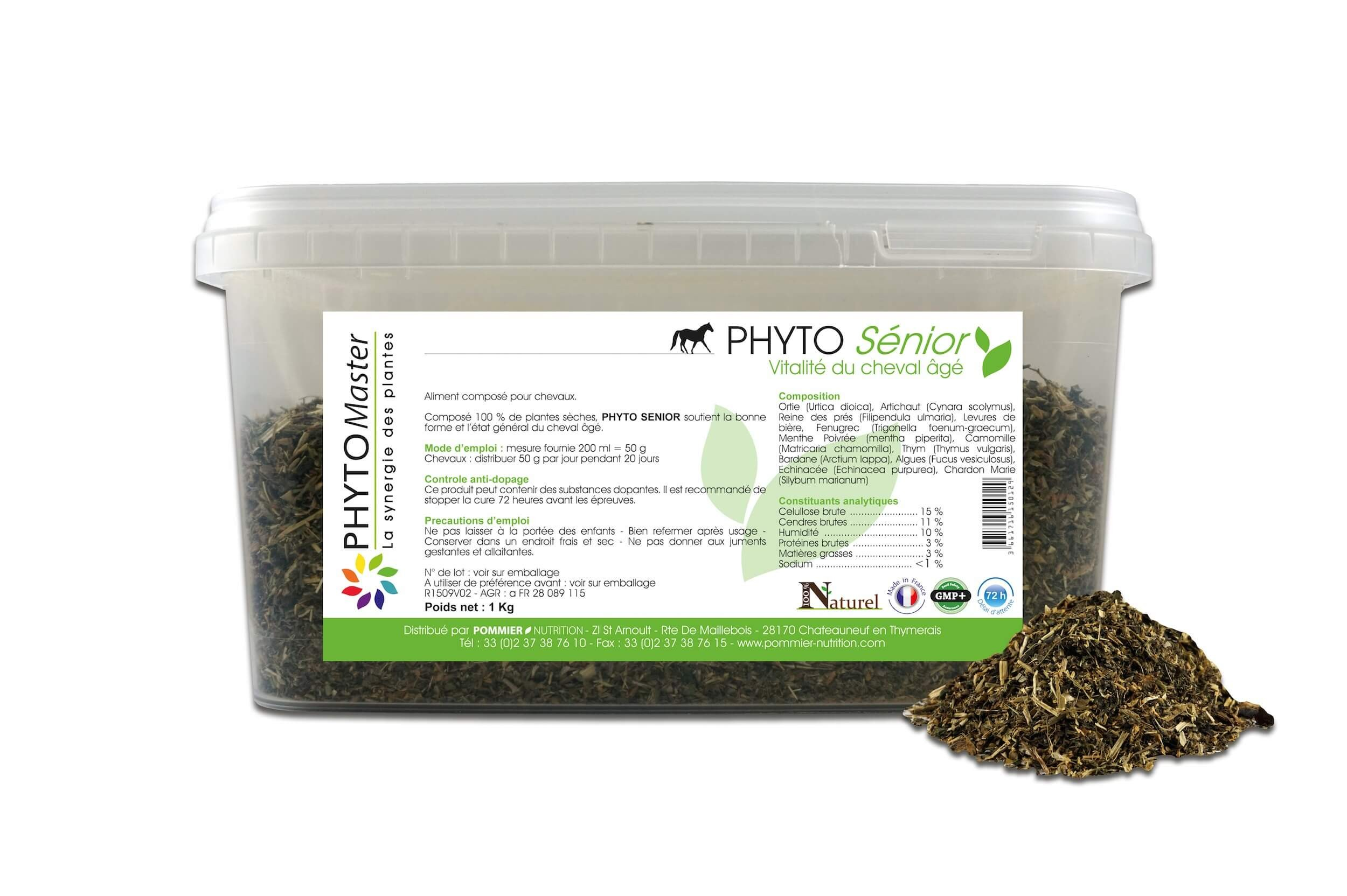 Phyto Master Senior 1 kg - La Compagnie des Animaux