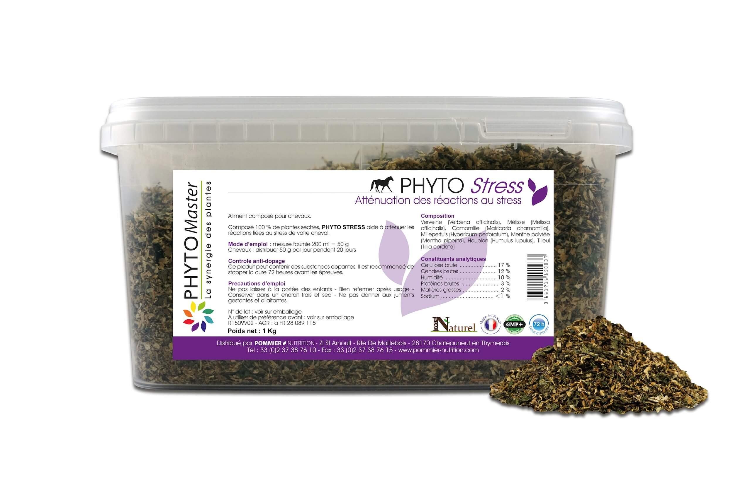 Phyto Master Stress 1 kg - La Compagnie des Animaux