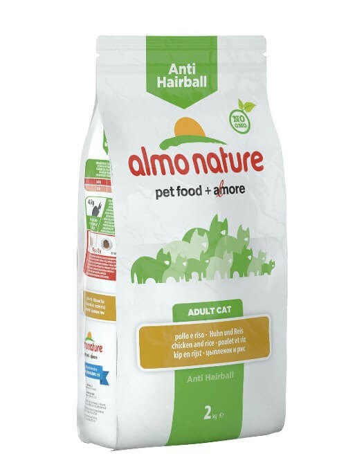 Almo Nature Chat Anti Hairball Poulet et riz 2 kg